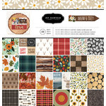 Pebbles - Warm and Cozy Collection - 12 x 12 Paper Pad