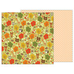 Pebbles - Woodland Forest Collection - 12 x 12 Double Sided Paper - Woodland Forest