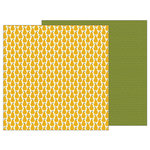 Pebbles - Woodland Forest Collection - 12 x 12 Double Sided Paper - Pears
