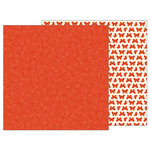 Pebbles - Woodland Forest Collection - 12 x 12 Double Sided Paper - Stitched Floral