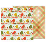 Pebbles - Woodland Forest Collection - 12 x 12 Double Sided Paper - Gnome Home