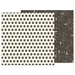 Pebbles - Simple Life Collection - 12 x 12 Double Sided Paper - Kitchen