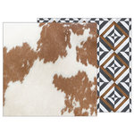 Pebbles - Simple Life Collection - 12 x 12 Double Sided Paper - Cowhide