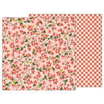 Pebbles - Simple Life Collection - 12 x 12 Double Sided Paper - Bougainvillea