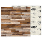 Pebbles - Simple Life Collection - 12 x 12 Double Sided Paper - Barn Wood