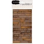 Pebbles - Simple Life Collection - Cardstock Stickers - Words