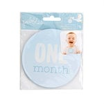 Pebbles - Lullaby Collection - Cardstock Stickers - Monthly - Boy