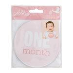 Pebbles - Lullaby Collection - Cardstock Stickers - Monthly - Girl