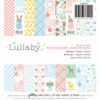 Pebbles - Lullaby Collection - 6 x 6 Paper Pad