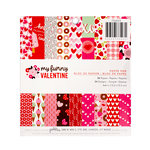 Pebbles - My Funny Valentine Collection - 6 x 6 Paper Pad