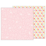 Pebbles - TeaLightful Collection - 12 x 12 Double Sided Paper - Delicate Lace