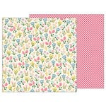 Pebbles - TeaLightful Collection - 12 x 12 Double Sided Paper - Meadow