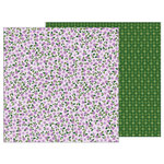 Pebbles - TeaLightful Collection - 12 x 12 Double Sided Paper - Lovely Lilacs