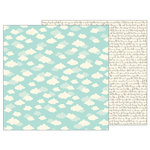 Pebbles - TeaLightful Collection - 12 x 12 Double Sided Paper - Daydream