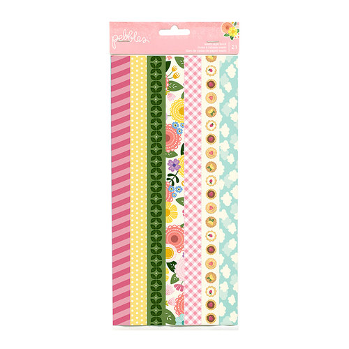 Pebbles - TeaLightful Collection - Washi Strips