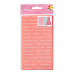 Pebbles - TeaLightful Collection - Cardstock Stickers - Words