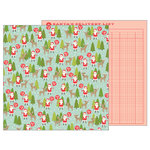 Pebbles - Merry Merry Collection - Christmas - 12 x 12 Double Sided Paper - North Pole