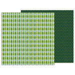 Pebbles - Merry Merry Collection - Christmas - 12 x 12 Double Sided Paper - Fresh Cut Pines
