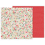 Pebbles - Merry Merry Collection - Christmas - 12 x 12 Double Sided Paper - Baking Delights