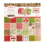 Pebbles - Merry Merry Collection - Christmas - 12 x 12 Project Pad