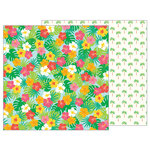 Pebbles - Sunshiny Days Collection - 12 x 12 Double Sided Paper - Paradise