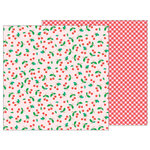 Pebbles - Sunshiny Days Collection - 12 x 12 Double Sided Paper - Sweet Cherries
