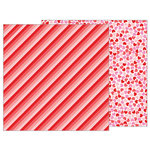 Pebbles - Forever My Always Collection - 12 x 12 Double Sided Paper - Follow Your Heart
