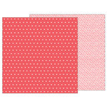 Pebbles - Forever My Always Collection - 12 x 12 Double Sided Paper - Be Mine