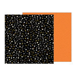 Pebbles - Midnight Haunting Collection - Halloween - 12 x 12 Double Sided Paper - Eyes on You