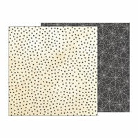 Pebbles - Midnight Haunting Collection - Halloween - 12 x 12 Double Sided Paper - Creepy Crawly