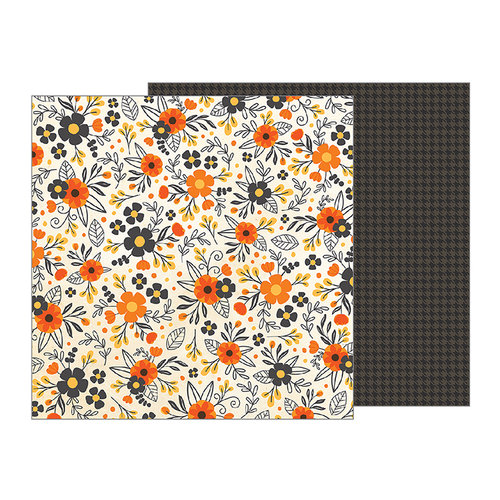 Pebbles - Midnight Haunting Collection - Halloween - 12 x 12 Double Sided Paper - Hauntingly Beautiful