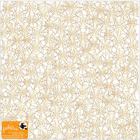 Pebbles - Midnight Haunting Collection - Halloween - 12 x 12 Vellum Paper with Foil Accents