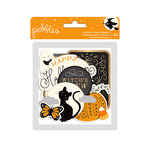Pebbles - Midnight Haunting Collection - Halloween - Ephemera with Foil Accents