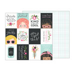Pebbles - Girl Squad Collection - 12 x 12 Double Sided Paper - You Got This