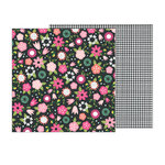 Pebbles - Girl Squad Collection - 12 x 12 Double Sided Paper - Go Girl
