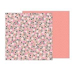 Pebbles - Girl Squad Collection - 12 x 12 Double Sided Paper - Fri-Yay
