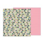 Pebbles - Girl Squad Collection - 12 x 12 Double Sided Paper - Girl Squad