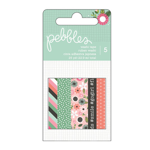 Pebbles - Girl Squad Collection - Washi Tape