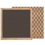 Pebbles - Heart of Home Collection - 12 x 12 Double Sided Paper - Letterboard