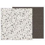 Pebbles - Heart of Home Collection - 12 x 12 Double Sided Paper - Songbird