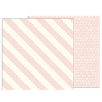 Pebbles - Heart of Home Collection - 12 x 12 Double Sided Paper - Blushing