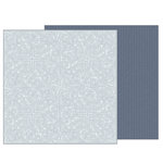 Pebbles - Heart of Home Collection - 12 x 12 Double Sided Paper - Tapestry
