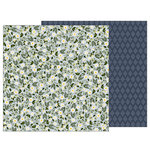 Pebbles - Heart of Home Collection - 12 x 12 Double Sided Paper - Wild Daisies