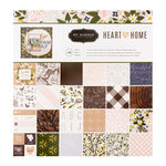 Pebbles - Heart of Home Collection - 12 x 12 Paper Pad