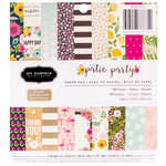 Pebbles - Patio Party Collection - 6 x 6 Paper Pad with Foil Accents