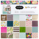 Pebbles - Patio Party Collection - 12 x 12 Paper Pad with Foil Accents