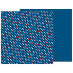 Pebbles - Land That I Love Collection - 12 x 12 Double Sided Paper - Fireworks