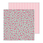 Pebbles - My Bright Life Collection - 12 x 12 Double Sided Paper - Flutterby