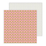 Pebbles - My Bright Life Collection - 12 x 12 Double Sided Paper - Sunflower