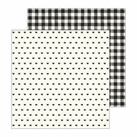 Pebbles - Spooky Boo Collection - Halloween - 12 x 12 Double Sided Paper - Meow